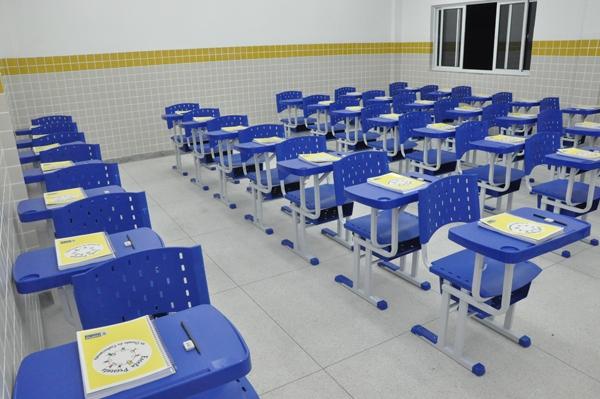 Ilustrativa escola modelo